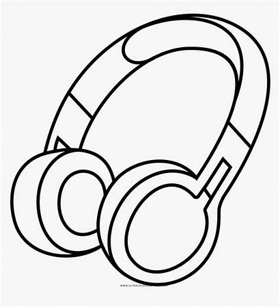 Headphones Coloring Drawing Transparent Library Clip Pngitem