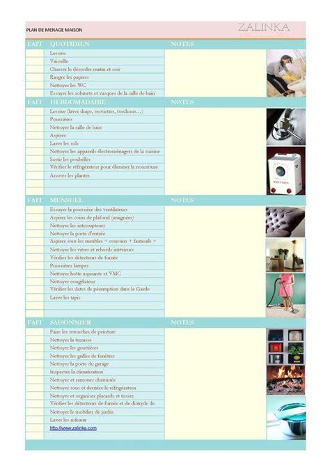 plan de nettoyage cuisine les 25 meilleures idées de la catégorie ménage de la