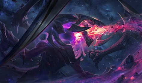 dark star chogath lol wallpapers