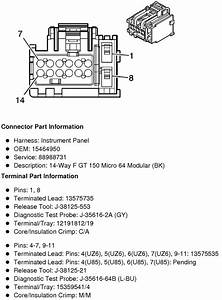 Need Wiring Diagrams For 2009 And 2010 Pontiac G6 Radio