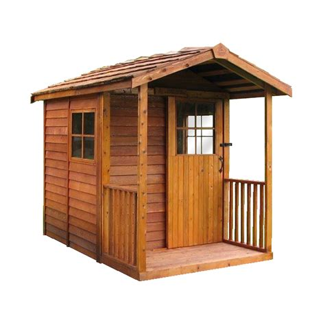 lowes outdoor sheds cedar shed gd6 gardener s delight shed lowe s canada