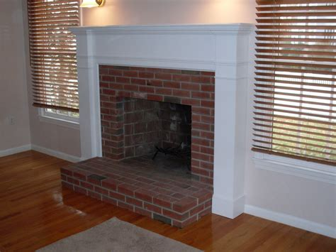How To Build A Wood Fireplace Surround  Fireplace Designs