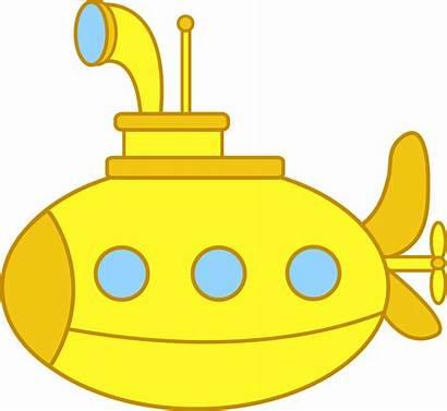 Yellow Submarine Clip Sweetclipart