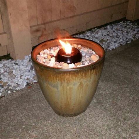flower pot fire pit fill  flower pot    sand