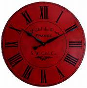 Wall Clocks Large by 36 In Large Wall Clock Paris Hotel Roman Round By Klocktime