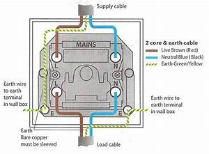 For A Light Switch Double Pole Wiring Diagram