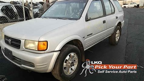 In 1999 honda passport was released in 4 different versions, 1 of which are in a body 4dr suv. 1999 Honda Passport Used Auto Parts   Santa Fe Springs