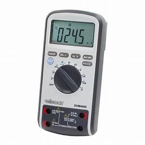 Multimetre Digital Mode D Emploi : multim tre digital velleman dvm4000 go tronic ~ Dailycaller-alerts.com Idées de Décoration