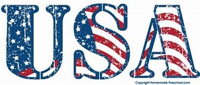 Flag American Clipart Usa Clip Flags America