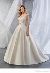 vintage 1950s silk satin wedding dress princess ball gown With silk princess wedding dresses