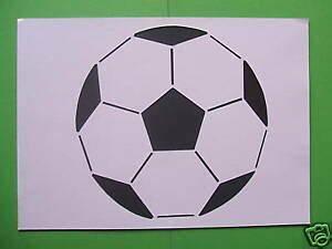 Fussball Deko Kinderzimmer : fussball ball schablone wandschablone deko kinderzimmer ~ Watch28wear.com Haus und Dekorationen