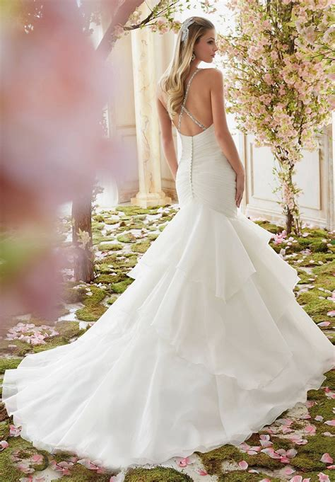 Mori Lee Voyage 6833 Wedding Dress