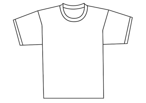 Kleurplaat Shirt by Kleurplaat Voorkant T Shirt Afb 19345