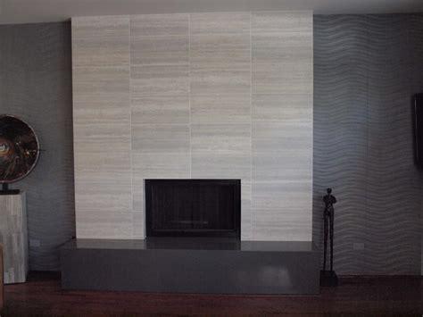 contemporary tile fireplace contemporary living room