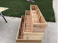 build a planter box How to Build a Tiered Garden Planter Box - Chris Loves Julia