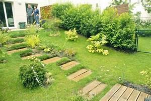 amenagement jardin pente accueil design et mobilier With amenagement d un jardin en pente