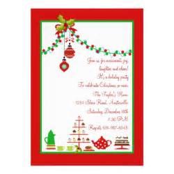 christmas party invitation 5 quot x 7 quot invitation card zazzle
