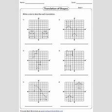 Translation Worksheets