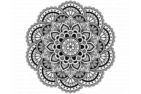 Moon mandala decor vector art free vector. Mandala SVG DXF, Mandala Drawing, Mandala SVG files.