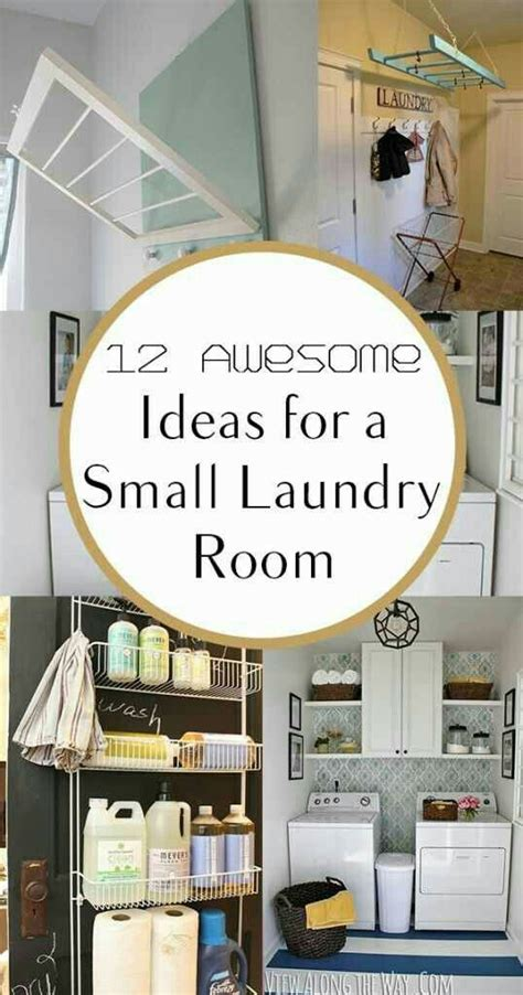 12 Awesome Ideas For A Small Laundry Area Condo