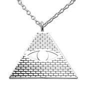 Eminem Illuminati Necklace by Eminem Necklace Ebay