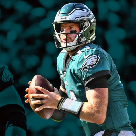 carson wentz  outperformed  box score numbers leads