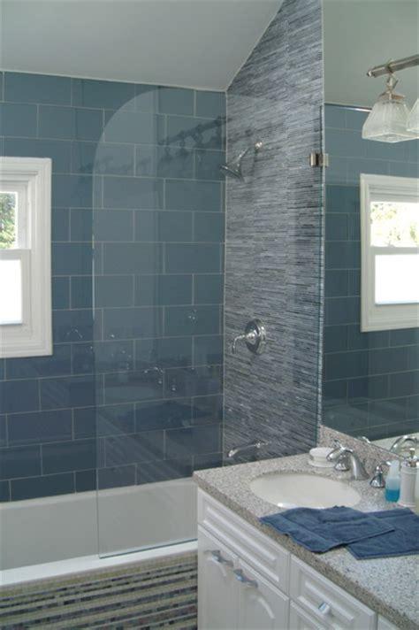 Bathtub Splash Guard Glass by Precision Splash Guard Tub Contemporary Bathroom