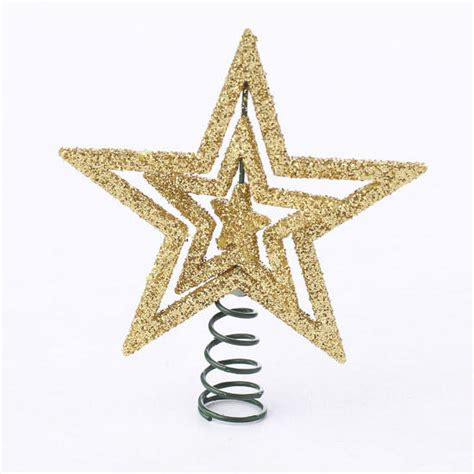 small christmas tree topper small gold tree topper christmas miniatures 7829