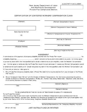 state farm disability claim form bill of sale form new jersey employee claim petition