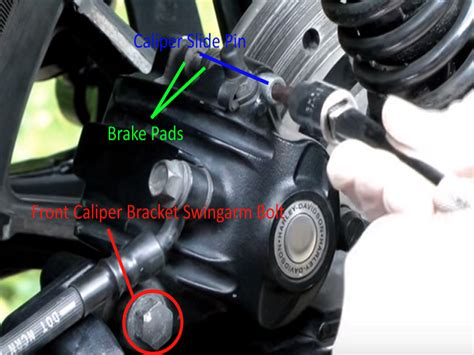 Harley Davidson Sportster How To Replace Brake Pads