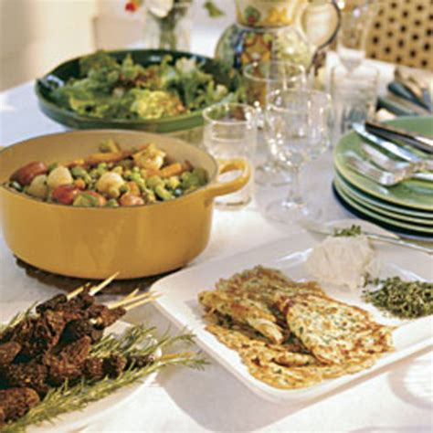 country kitchen recipes tv vegetables in a country dinner finecooking 6127
