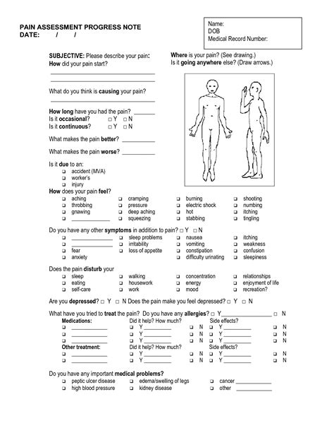 massage soap notes template massage massage therapy