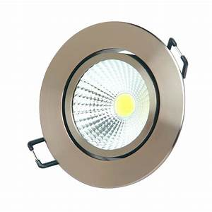 Led Spot 230v : led cob spot einbauleuchte einbaustrahler schwenkbar alu 230v einbau strahler ebay ~ Watch28wear.com Haus und Dekorationen