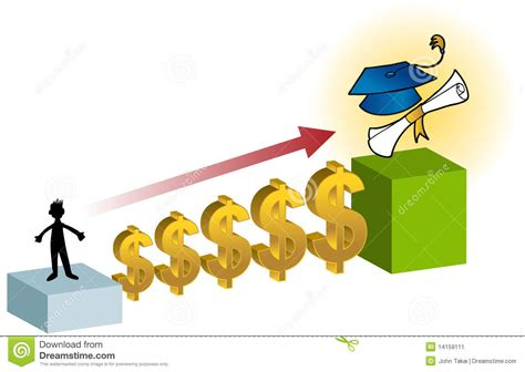 Student Financial Aid Stock Image
