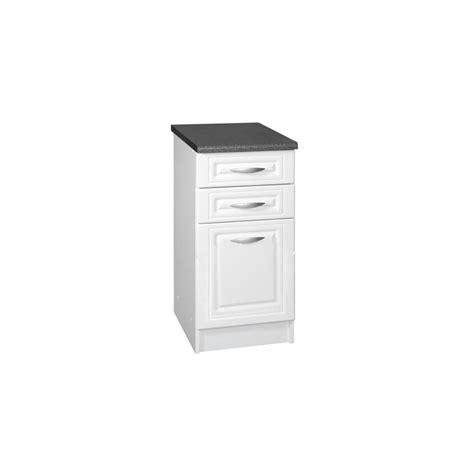 meuble bas cuisine largeur 50 cm meuble bas de cuisine dina 50 cm 3 tiroirs moulures mdf