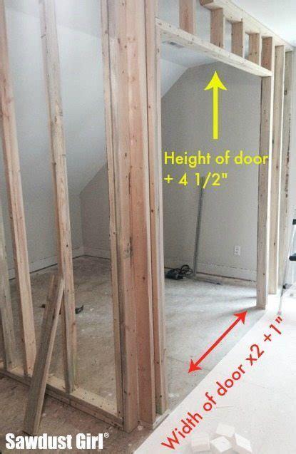 a door how to install a pocket door frame sawdust 174 Installing