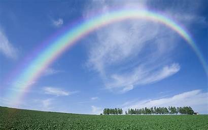 Rainbow Earth Wallpapers Rainbows Background Wall