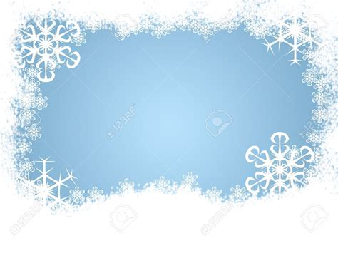 Border Snowflake Background Clipart by Snow Border Clipart 101 Clip