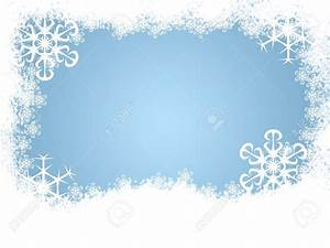 Winter clipart page border - Pencil and in color winter ...