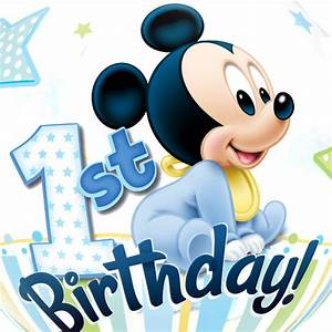 Mickey Mouse 1st Birthday Bubble Balloon | Free Delivery