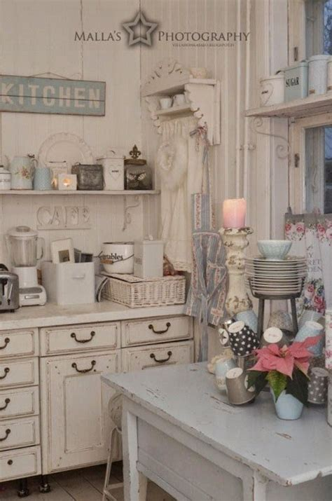 cuisine shabby chic 35 awesome shabby chic kitchen designs accessories and