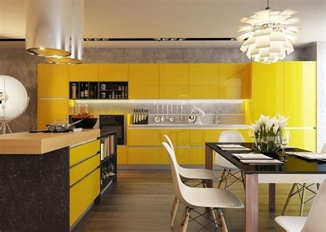 Yellow Living Room Design