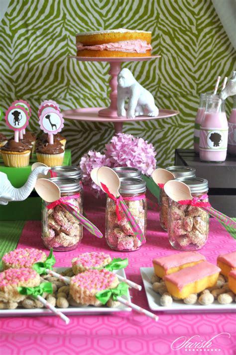 baby shower safari decorations pink jungle safari baby shower printables ideas