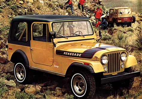 Wallpapers Of Jeep Cj-7 Renegade 1976–82
