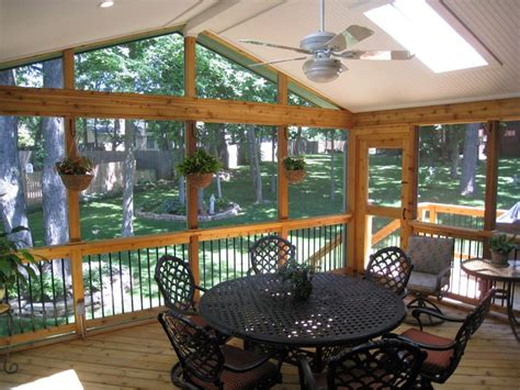 How To Enclose A Screened In Porch by Deck Ideas For Enclosed Porch Archadeck Of Kansas City
