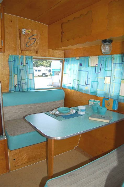 pictures  ideas  decorate vintage trailer fun