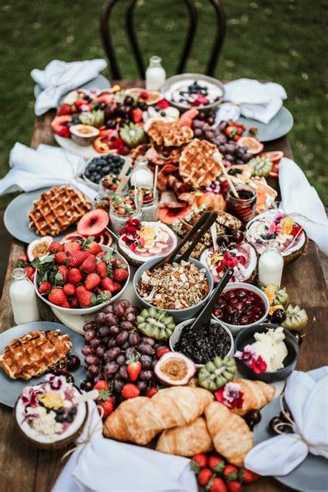 breakfastbrunch grazing table breakfast platter