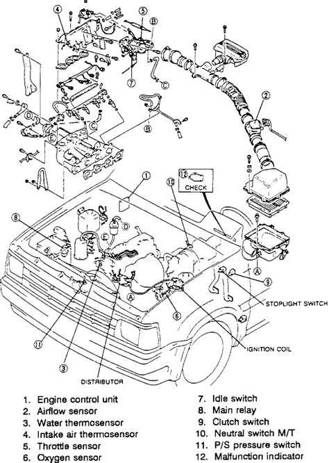 Mazda Carburetor Diagram Cars