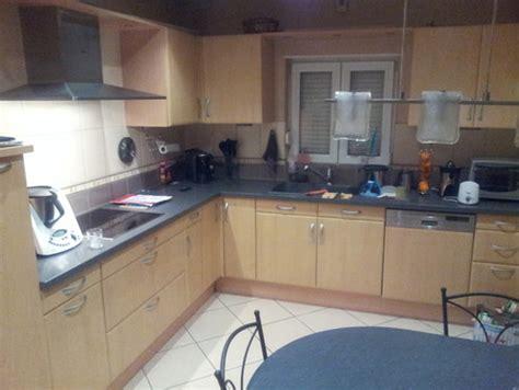 cuisine hetre clair repeindre les facades de cuisine ou associer avec un autre