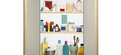 build  recessed medicine cabinet part
